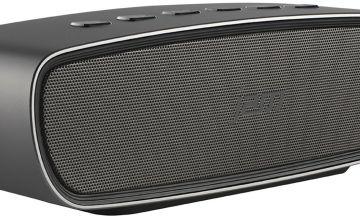 JAM Heavy Metal Wireless Bluetooth Speaker - Silver