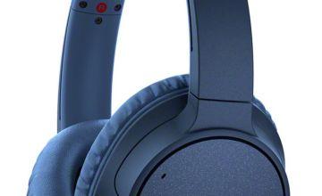 Sony WH-CH700N On-Ear Wireless Headphones - Blue