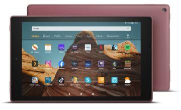 Amazon Fire 10 HD 10.1 Inch 32GB Tablet - Plum
