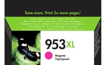 HP 953XL High-Yield Original Ink Cartridge - Magenta
