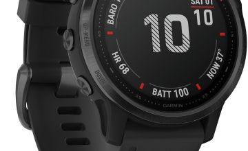 Garmin Fenix 6S Pro GPS Smart Watch - Black / Black Band