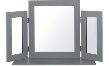 Argos Home Triple Mirror - Grey