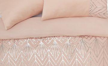 Argos Home Sequin Bedding Set