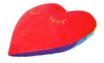 Heart Shaped Mallow Cushion