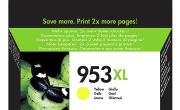 HP 953XL High-Yield Original Ink Cartridge - Yellow