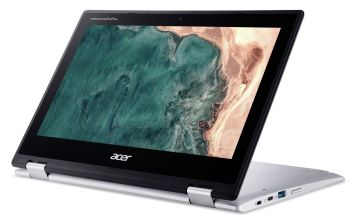 Acer Spin 311 11 Inch Celeron 4GB 64GB Chromebook - Silver