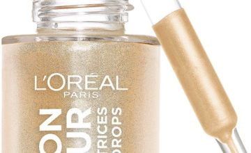 L'Oreal Glow Mon Amour Liquid Highlighter - Champagne 01