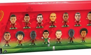 SoccerStarz Belgium 15 Team Figurine Pack.