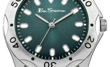 Ben Sherman Kids' Silver Metal Bracelet Watch