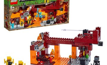 LEGO Minecraft The Blaze Bridge Playset - 21154