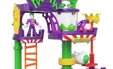 Imaginext DC Super Friends Batman Joker Laff Factory