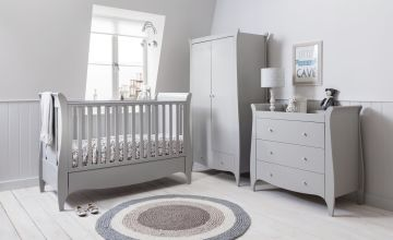 Tutti Bambini Roma 3 Piece Nursery Furniture Set - Dove Grey