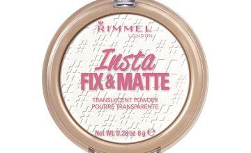Rimmel Insta Fix & Matte Translucent Pressed Face Powder