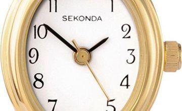 Sekonda Ladies Gold Stainless Steel Expander Bracelet Watch