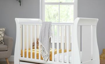 Tutti Bambini Katie Baby Cot Bed and Drawer - White