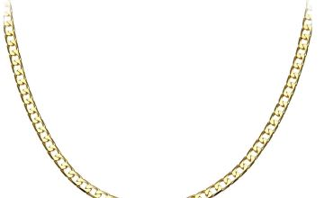 9ct Gold Curb Chain - 24 inch