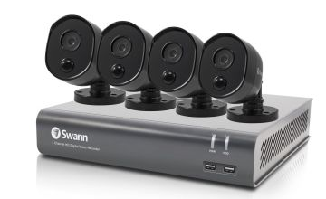 Swann DVR4-4580V 1080P CCTV Camera System - 4 Pack
