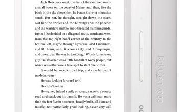 Kobo Libra H20 E-Reader - White