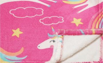 Argos Home Unicorn Fleece