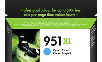 HP 951XL High-Yield Original Ink Cartridge - Cyan
