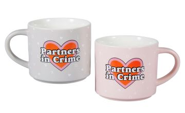 Partners in Crime Mug Set
