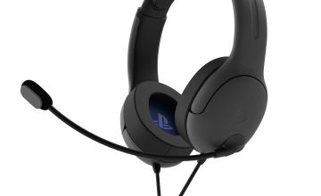 PDP Officially Licensed LVL40 PS4 & PC Headset – Grey