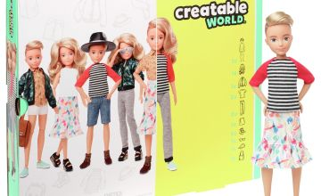 Creatable World Deluxe Character Kit - Blonde Wavy Hair