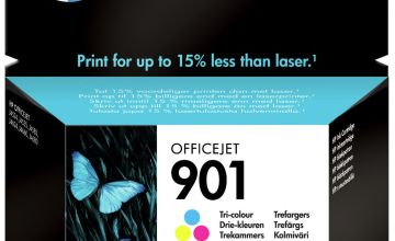 HP 901 Original Ink Cartridge - Colour