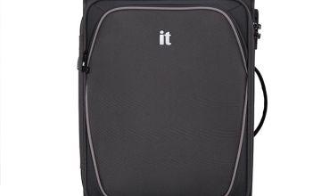 it Luggage Expandable 8 Wheel Soft Suitcase