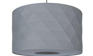 Argos Home Skandi Geometric Shade - Grey