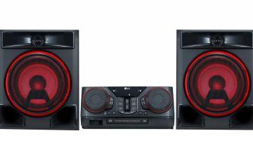 LG CK56 Hi-Fi System - Black