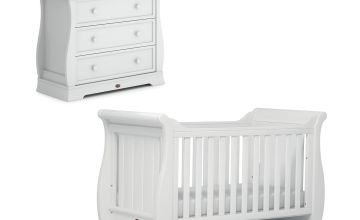 Boori Sleigh 2 Piece Room Set - White