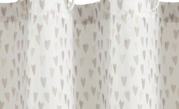 Argos Home Heart Shower Curtain