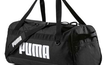 Puma Challenger Medium Black Holdall