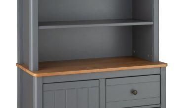 Argos Home Bournemouth 4 Shelf 2 Drawer Bookcase