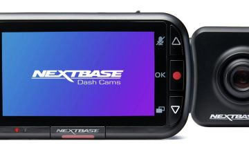 Nextbase 222X Front and Rear Dash Cam Bundle