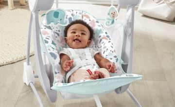 Fisher-Price Terrazzo Take Along Baby Swing