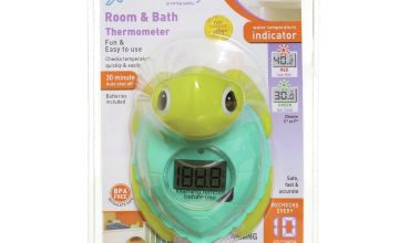 Dreambaby Digital Room & Bath 2-In-1 Thermometer (Turtle)