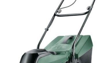 Bosch CityMower 34cm 4.0Ah Cordless Lawnmower - 18V