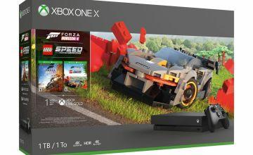 Xbox One X 1TB Console & Forza Horizon 4 LEGO Speed Bundle