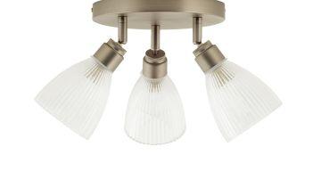 Argos Home Le Marais 3 Light Flush to Ceiling Light - Chrome