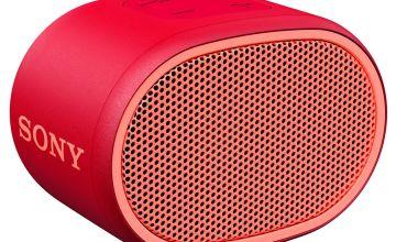 Sony XB01 Wireless Speaker - Red