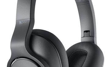 AKG N700NCM2 On-Ear Wireless Headphones - Silver
