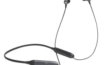 JBL Live 220 In-Ear Wireless Neckband Headphones - Black