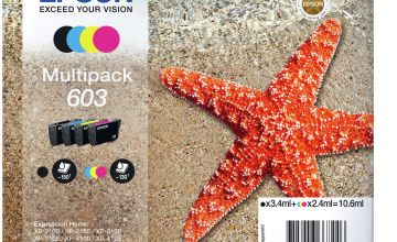 Epson 603 Starfish Ink Cartridge - Black and Colour