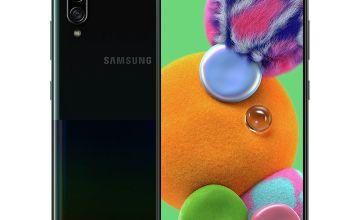 SIM Free Samsung A90 128GB 5G Mobile Phone - Black