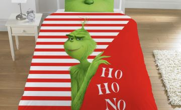 The Grinch Movie Ho Ho No Bedding Set - Single