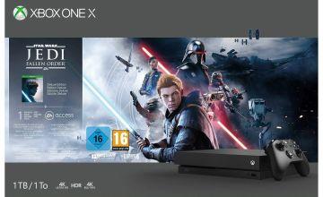 Xbox One X 1TB Console & Star Wars Jedi: Fallen Order Bundle