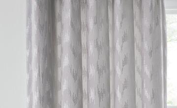 Argos Home Velvet Lined Eyelet Curtains - Grey