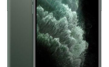 SIM Free iPhone 11 Pro Max 512GB Mobile Phone-Midnight Green